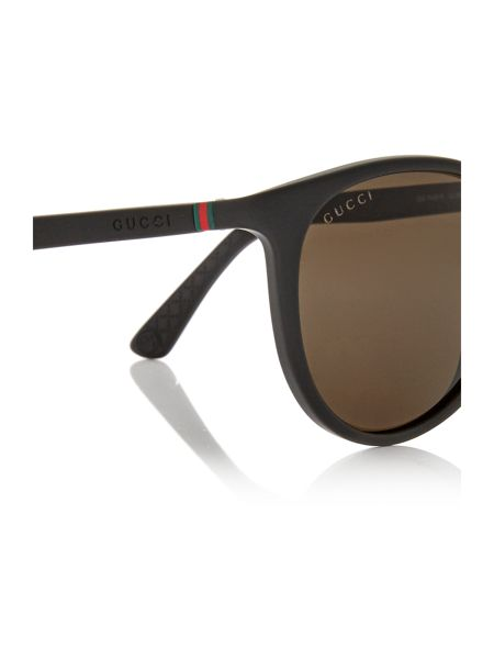 Gucci Black rectangle GG 1148/S sunglasses