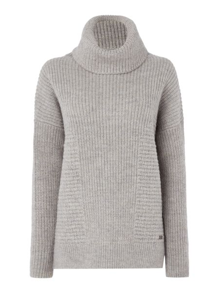 Barbour Caster cowl neck jumper