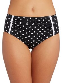 Dickins & Jones Spot High Waisted Brief
