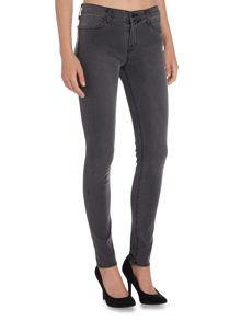 J Brand 620 mid rise super skinny jean in night bird
