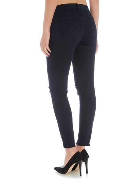 J Brand Ankle mid rise skinny jean in Blue Mercy