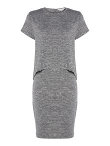 Gray & Willow Pia layered jersey dress