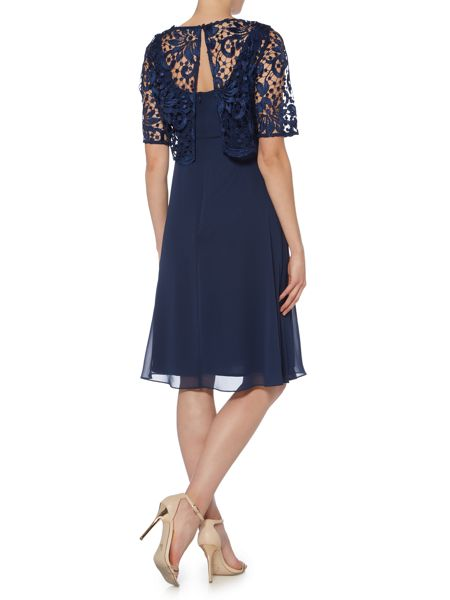 Ariella Lace overlay dress