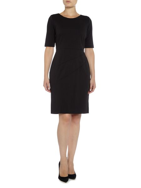 Ellen Tracy 3/4 Sleeve ponte shift dress