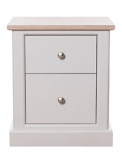 Aurelia 2 drawer bedside