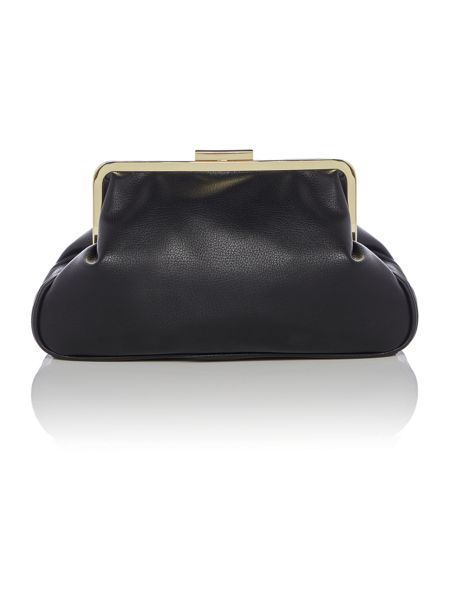 Therapy Aurora frame clutch handbag