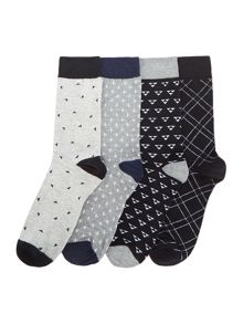 Jack & Jones 4 Pack Minimal Socks