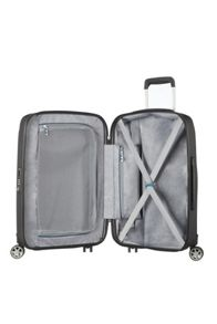 Samsonite Starfire graphite 8 wheel 55cm cabin suitcase
