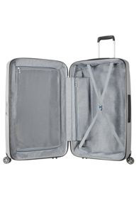 Samsonite Starfire silver 8 wheel 75cm large suitcase