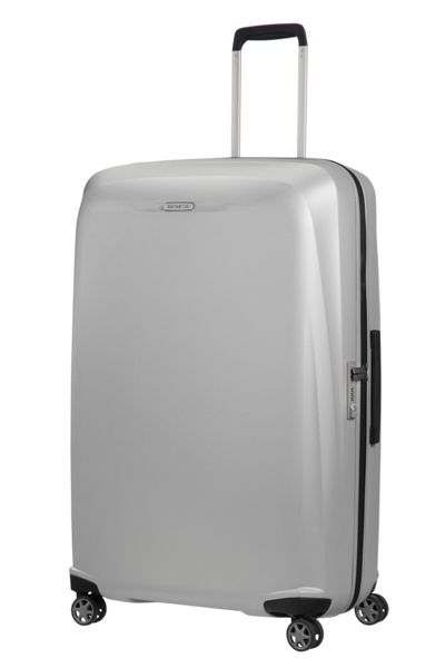 Samsonite Starfire silver 8 wheel 82cm extra large case