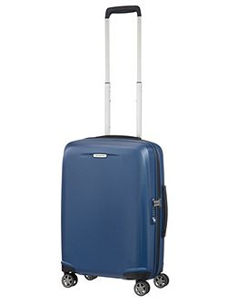 Starfire blue 8 wheel 55cm cabin suitcase