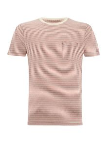 Jack & Jones Fine Stripe Crew Neck T-shirt