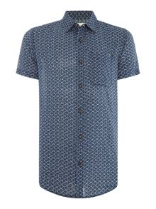 Jack & Jones All Over Print Short Sleeve Shirt
