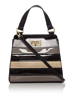 Mini Stripe Dhalia Bag