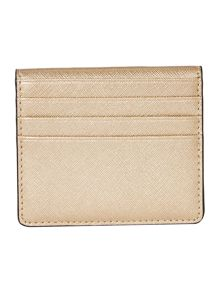 Michael Kors Jetset gold bi fold card case