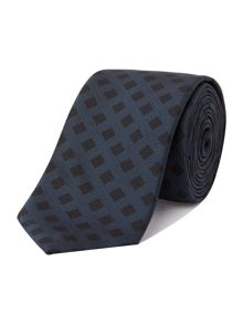 Hugo Boss Grid Check Tie