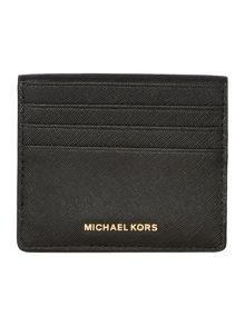 Michael Kors Jetset black bi fold card case