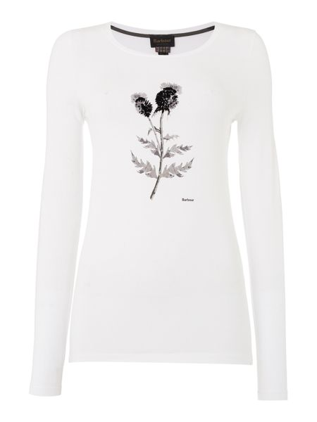 Barbour Bruray thistle tee
