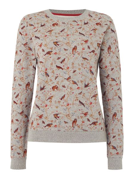 Barbour Rivington printed sweatshirt