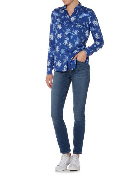 Barbour Susannah wedgewood print shirt