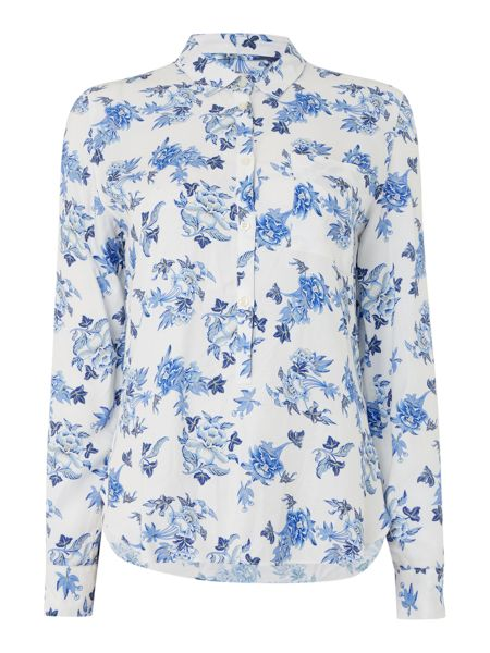 Barbour Catherine wedgewood print shirt