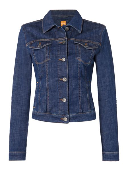 Hugo Boss Orange J90 Portland long sleeve denim jacket