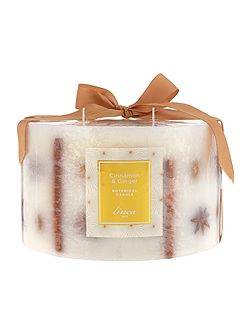 Cinnamon & ginger 5 wick botanical candle