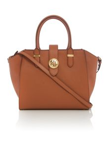 Lauren Ralph Lauren Charleston medium tan tote bag