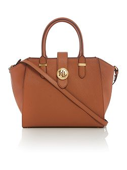 Charleston medium tan tote bag
