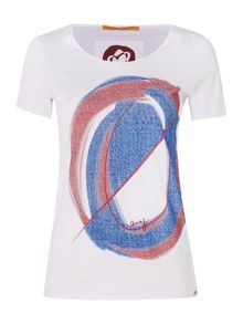 Hugo Boss Short sleeve print tee