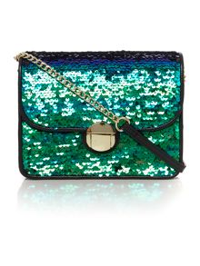 Therapy Mickey sequin crossbody handbag