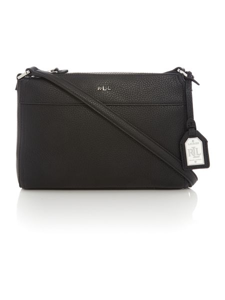 Lauren Ralph Lauren Milford Black & White Crossbody