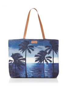 Seafolly Carried away tropix beach tote