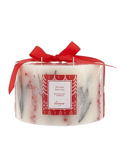 Winter Berries 5 wick botanical Candle