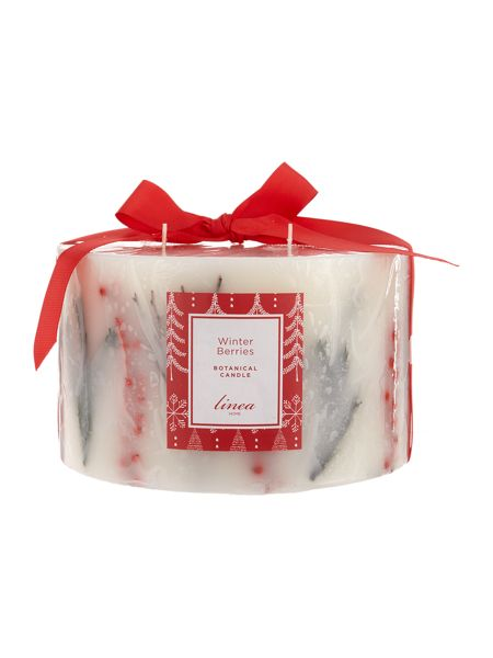 Linea Winter Berries 5 wick botanical Candle