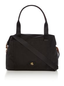 Lauren Ralph Lauren Bainbridge Black Duffle Sports bag
