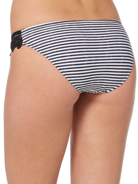 Seafolly Riviera stiped hipster brief
