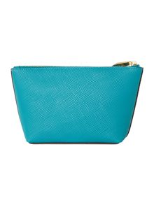 Lauren Ralph Lauren Charleston Blue make up bag