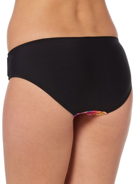 Seafolly Mexican summer lattice hipster brief