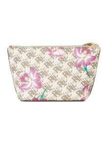 Lauren Ralph Lauren Dobson exclusive cosmetic bag with wristlet
