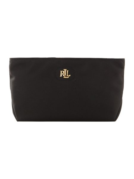 Lauren Ralph Lauren Bainbridge black exclusive make up wristlet bag