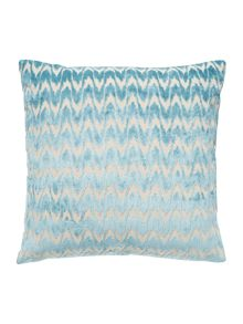 Linea Velvet chevron cushion