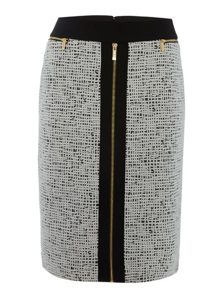 Episode Front zip detail skirt