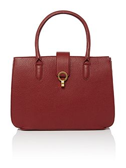 Tamsin triple compartment handbag