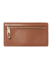 Lauren Ralph Lauren Newbury tan slim wallet