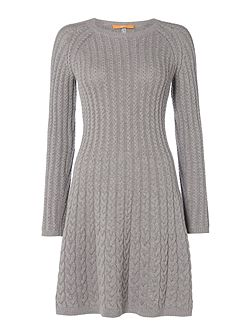 Wedenas cable knit dress