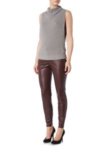 Hugo Boss Leather look trousers