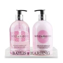 Baylis & Harding Wild Rose & Raspberry Leaf Hand Wash & Lotion Duo