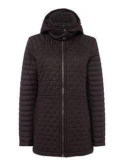 Quilted Hooded Anorak