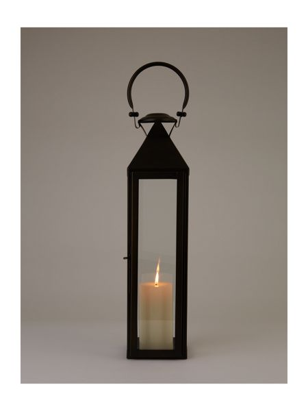 Linea Black lantern large